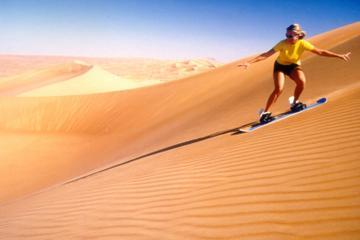 Dubai-Sandboarding-Safari im Geländewagen