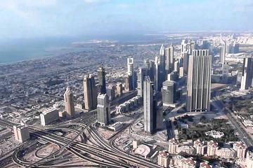 Entrada para o mirante Burj Khalifa em Dubai