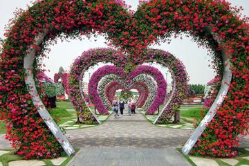 Märchenhafte Attraktionen in Dubai: Miracle Gardens, Butterfly Garden...