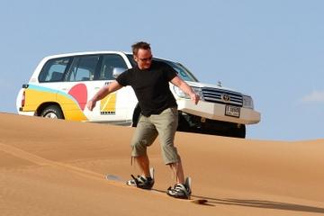 Privat äventyrssafari i fyrhjulsdriven terrängbil med sandboarding