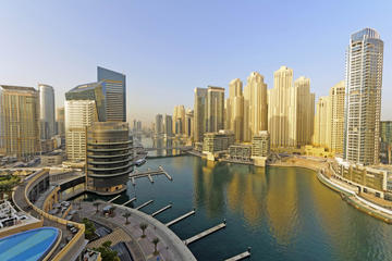 Rundtur om modern utveckling i Dubai