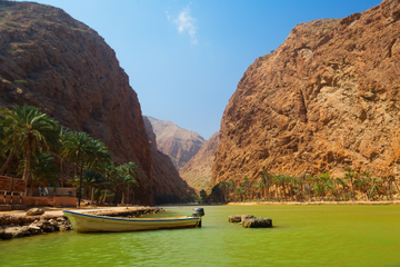 Safari di Wadi Shab con 4x4 privato