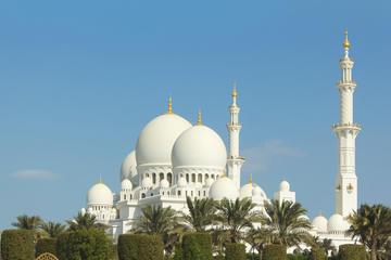 Visite des points forts d'Abou Dhabi: la Mosquée Sheikh Zayed, le...