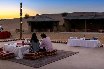 Visite privée: le désert romantique de Dubaï et un dîner pour deux