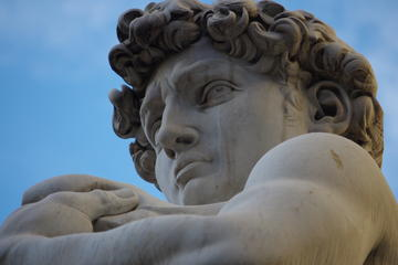 Private Tour: Walking Tour plus The Uffizi or Accademia Gallery Guided Tour