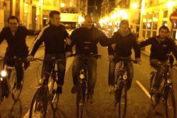 Recorrido nocturno en bicicleta por Valencia