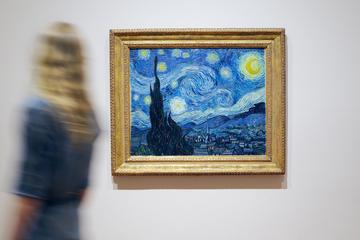 Entre til Museum of Modern Art med spring køen over-indgang