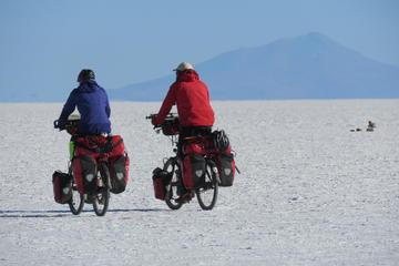 Private experience Biking in the Uyuni Salt Flats