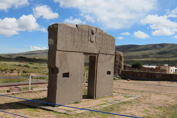 Private tour to the Tiwanaku ruins from La Paz