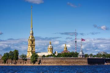 Excursão turística na cidade de São Petersburgo
