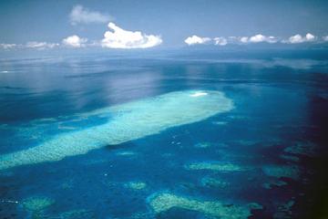 Rundflug über das Great Barrier Reef...