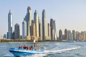 Tour met speedboot: Dubai Marina, Atlantis en Burj Al Arab