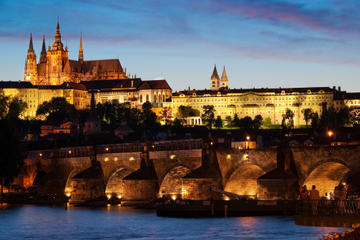 Prague Night Tour and River Vltava...