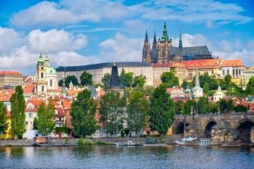 Wandeltour van het kasteel van Praag