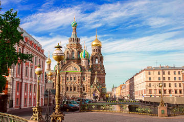 St. Petersburg 2-Day City Tour Shore...