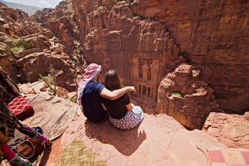 Petra and Wadi Rum Tour 03 days from Amman