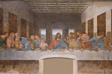 """""""La última cena"""" y excursión al Castillo de Sforza"""