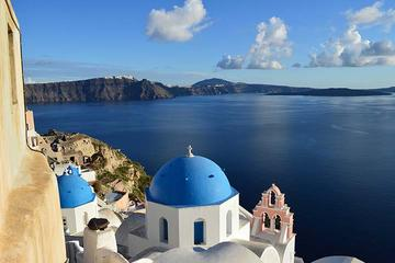 Santorini Traditional Bus Tour with...