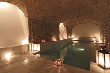 Excursão pela cidade de Sevilha e ingresso para os banhos termais