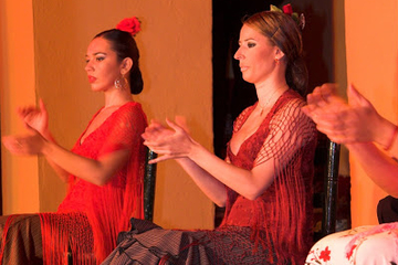 Flamenco-Vorstellung im Tablao Flamenco El Arenal in Sevilla