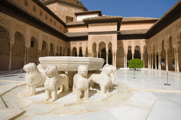 Granada Day Trip including Alhambra and Generalife Gardens from...