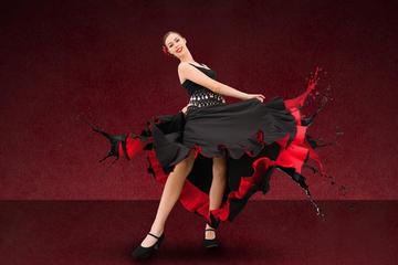 Spettacolo di flamenco al Tablao el Cardenal di Cordova