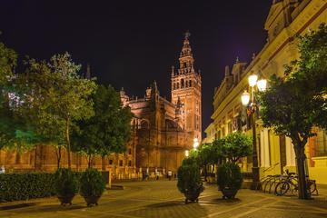 Tour a piedi serale di Santa Cruz a Siviglia incluse tapas e bevande
