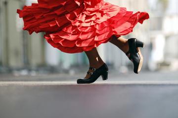 Visite nocturne de Séville avec spectacle de flamenco Tablao