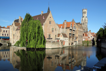 Excursão express pela cidade de Bruges saindo de Bruxelas
