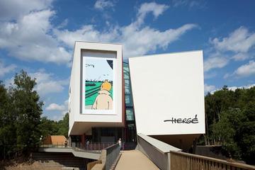 Excursion bandes dessinées de Tintin vers le musée Hergé depuis...