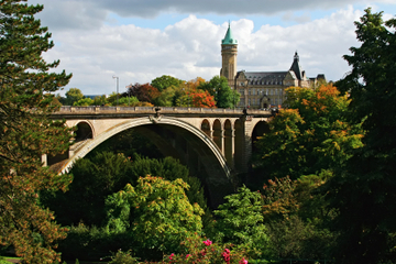 Excursion d'une journée au Luxembourg...