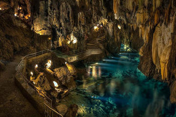 Corinth, Cave of Lakes, and Odontotos Railway Private Tour
