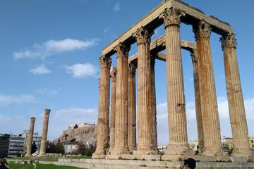 Private Tour of Athens Highlights plus Cape Sounion and Temple of Poseidon plus Great Lunch