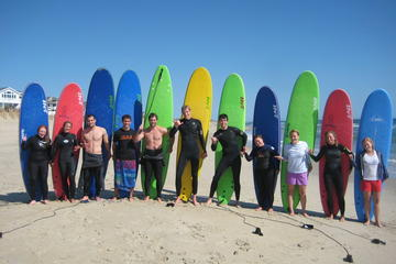Small-Group Surf Lesson on the Outer ...