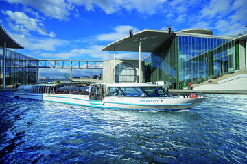 Berlin Hop-On Hop-Off City Circle Tour Including Spree River Boat...