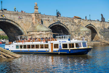 1hr Vltava River Cruise with Free Airport Transfer