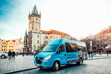 Hop On Hop Off Sightseeing Tour with Prague Castle & Free Souvenir Gift