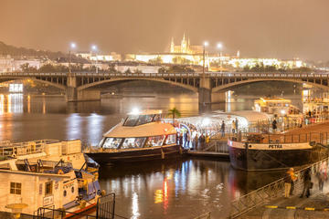 Prague by Night Cruise with Dinner & Free Airport Transfer