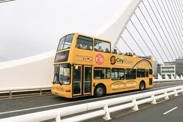 Hop-on-Hop-off-Stadtrundfahrt im Bus...