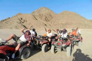Quadfahrt zur Wüstensafari ab...