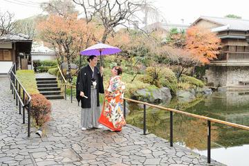 東京でのプライベート日本庭園写真撮影会