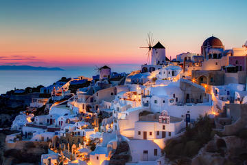 Santorini Full-Day Sightseeing Tour in SPANISH language