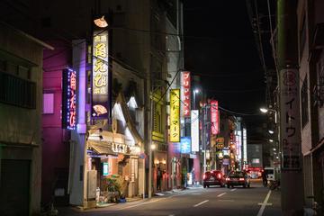 Night walk around Asakusa's deep and hidden spots