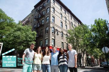 Guidet tur til steder i New York som er kjent fra film og TV
