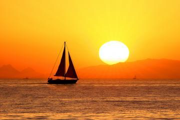 Croisière originale au coucher du soleil à Cabos