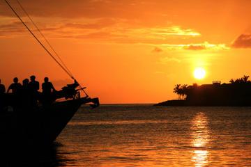 Cruzeiro-jantar ao pôr do sol em Los Cabos