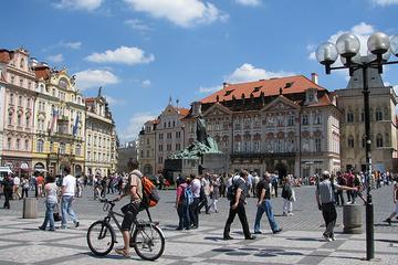Excursão de bicicleta por Praga