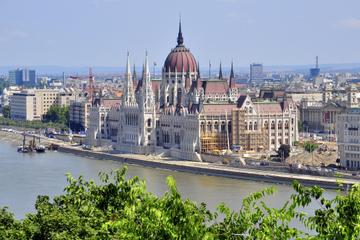 Stadstour door Boedapest met kabelspoorbaan bij de Burchtheuvel en ...