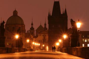 Tour a piedi dei fantasmi di Praga