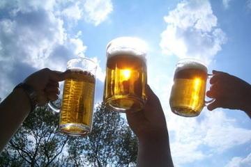 Tschechische Bierprobe in Prag